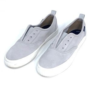 Sperry slip on sneakers gray shoes 7.5